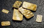 Złote sztabki mają cenę wynikającą z prawa popytu i podaży