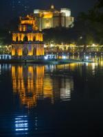 Jezioro Zwróconego Miecza w Hanoi było domem żółwiaka szanghajskiego. Ostatniego żywego osobnika widziano  w 2015 r.