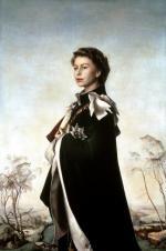 """2 Pietro Annigoni  """"Królowa Elżbieta II"""", 1955"""