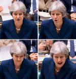 Premier Theresa May podczas poniedziałkowego wystąpienia na temat brexitu w Izbie Gmin