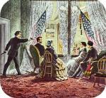 ≥15 kwietnia 1865 r. o godz. 22.15 w Teatrze Forda John Booth dokonał zamachu na prezydenta Lincolna