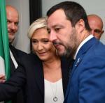 Le Pen i Salvini – francusko-włoski motor europejskiego populizmu. Rzym, 8 października