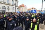 Wielu policjantów ma wrażenie, że protest był za drogi