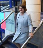 ≥Arlene Foster, szefowa Demokratycznej Partii Unionistycznej (DUP)