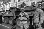 Amerykańscy żołnierze na Pikniku NATO w Piotrkowie Trybunalskim