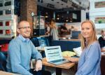 Karolina Dolaś i Grzegorz Galos na chmurze oparli swój biznes