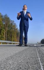 Ostatni odcinek trasy S8 z Warszawy do Białegostoku Mateusz Morawiecki otworzył 17 października