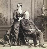≥Lucy iRutherford Hayesowie przez 40 lat tworzyli zgodne małżeństwo idoczekali się ośmiorga dzieci