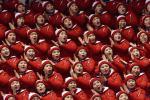 Zimowe cheerleaderki, igrzyska w Pjongczangu