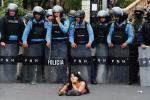 Demonstracja przeciw fałszerstwom wyborczym, Honduras