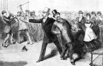 ≥2 lipca 1881 r. Charles J. Guiteau przeprowadził zamach na prezydenta Jamesa Garfielda
