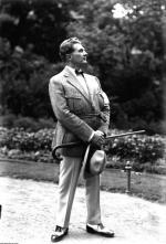 Adam Didur  na krakowskich Plantach, 1927 r.