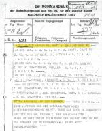 Telegram z 14 kwietnia 1943 r. w sprawie planowanego zamachu na Hitlera