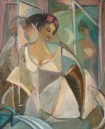Leon Chwistek, Portret kobiety, 1919–1921