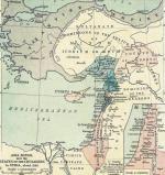 Bliski Wschód w pierwszej połowie XII wieku
