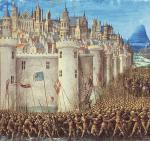 Krzyżowcy oblegali Antiochię Syryjską od 20 października 1097 do 3 czerwca 1098 r.