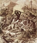 Bitwa pod Ponte Novo nad rzeką Golo. Korsyka, 8 maja 1769 r.