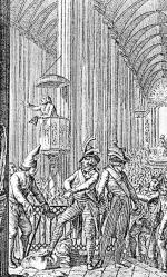 Propagatorzy kultu rozumu przejęli wiele kościołów w całej Francji. Z ambon wygłaszali obrazoburcze kazania, jednocześnie katowali duchownych i wiernych, którzy nie wyrzekli się swojej religii