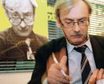 Andrzej Sapkowski na brak czytelników nie narzeka. 1997 rok – spotkanie autorskie