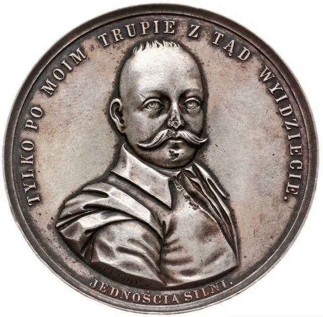 medal z Tadeuszem Reytanem