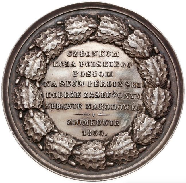Rzadki medal z Tadeuszem Reytanem