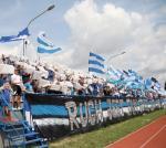 Kibice Ruchu bojkotują klub, a swoje sympatie przerzucili na B-klasowy UKS Ruch,  który tłumnie wspierali w meczu Pucharu Polski