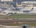 Ramstein w landzie Nadrenia-Palatynat, największa pod względem liczby personelu amerykańska baza wojskowa poza Stanami Zjednoczonymi i siedziba sił powietrznych USA w Europie
