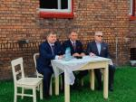 ≥ Wicemarszałek Wojciech Kałuża przekazał w Czerwionce informacje  o dotacji na termomodernizację zabytkowego osiedla
