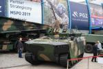Borsuk, pływający bojowy wóz piechoty nowej generacji z bezzałogową wieżą, wejdzie do służby dopiero po surowych testach