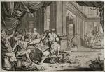 Plaga żab na ilustracji do Starego i Nowego Testamentu (wydanie z Amsterdamu, 1700 r.)