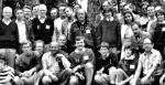 Bachotek, prawdopodobnie czerwiec 1987 J - Angela Merkel, A – jej przyszły mąż Joachim Sauer. N – Karol Jankowski, główny organizator spotkań chemików kwantowych