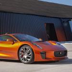 """Jaguar C-X75 nigdy nie trafił do produkcji seryjnej, za to zagrał  w filmie """"Spectre"""""""