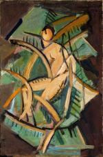 """""""Tancerka"""" (1919) Jana Hrynkowskiego"""