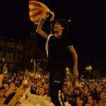 Barcelona, 16 października, wiec zwolenników niepodległości