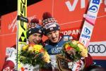 Kamil Stoch i Dawid Kubacki, czyli pierwszy raz tej zimy dwóch Polaków na podium