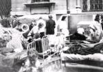 Szpital Maltański podczas powstania warszawskiego, sierpień 1944 r.  Materiały prasowe