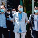 W poniedziałek policja aresztowała twórcę największego dziennika opozycyjnego Hongkongu Jimmy'ego Lai
