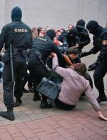 OMON od ponad miesiąca pacyfikuje protesty w kraju