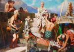 """Obraz """"Rozbitek"""" Henryka Siemiradzkiego wywieziono z kraju  i sprzedano w Londynie"""