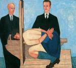 """Jerzy Nowosielski, """"Beatrix Cenci"""", 1950 r., kolekcja prywatna"""