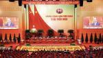 Do uczestników zjazdu Komunistycznej Partii Wietnamu w Hanoi przemawia premier Nguyen Xuan Phuc