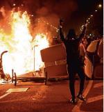 Najbardziej gwałtowny przebieg mają protesty w Barcelonie