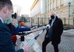 Wicemarszałek Sejmu Ryszard Terlecki komentował sytuację  w koalicji przed spotkaniem  w KPRM