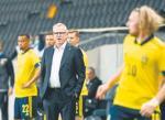 Trener Szwedów Janne Andersson ma ważny atut: piłkarze go lubią