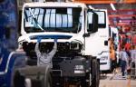 Z taśm produkcyjnych MAN-a w Niepołomicach zjeżdżać ma docelowo 300 pojazdów dziennie.  Na zdjęciu: zakład koncernu w Monachium