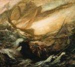 """Latający Holender"", obraz Alberta Pinkhama Rydera zok. 1896 r."