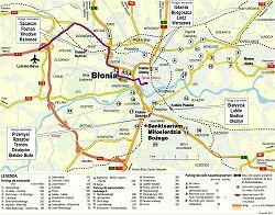Mapa Okolic Krakowa Archiwum Rzeczpospolitej