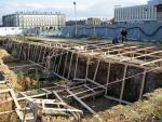Przy odbudowie Pałacu Saskiego odkryto stare fundamenty