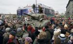 Wielkie zainteresowanie warzszawiaków wzbudził czołg Shermann