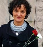 Barbara Sadowska z Fundacji Barka przekonuje, że godny byt można osiągnąć tylko własną pracą, a nie prosząc o jałmużnę
